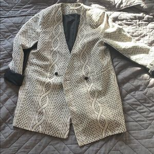 Anthropologie- The Addison Story oversize blazer